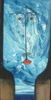 Alberto Ulloa-Muchacha azul