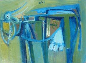Alberto Ulloa-La vaca azul