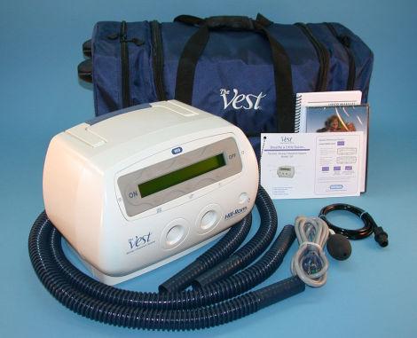 Sistema de limpieza de vias respiratoriasTheVest Hill Rom
