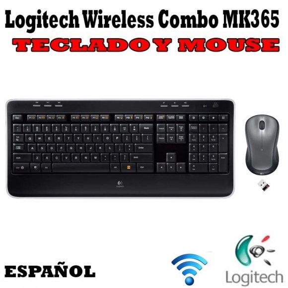 Logitech Wireless Combo MK365 920004436, Teclado y Mouse, Esta elegante combinación de teclado y mouse ofrece todo el rendimiento que espera y aporta estilo a su vida, Fácil navegación en línea, Conéctelo y olvídese de él, Wireless
