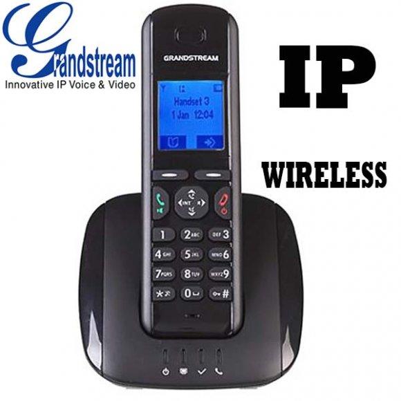 GrandStream DP715, TELEFONO IP inalámbrico dect con BASE MAESTRA, 1 PUERTO 100/100MBPS, SOPORTA 4 TELEFONOS DP710, QOS, 5 CUENTAS SIP, HASTA 4 LLAMADAS SIMULTANEAS, Identificación de llamadas en pantalla, Autonomía: 10 h. en conv. / 80 h. en espera