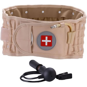 Physio Decompression Back Belt Pain Lower Lumbar Support