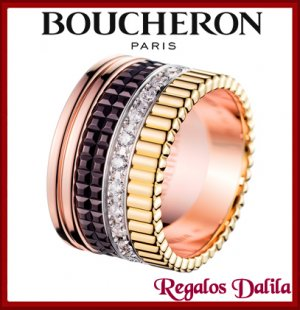 Anillo Boucheron Quatre Black