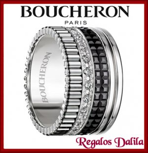 Anillo Boucheron Quatre Silver