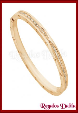 Pulsera A.Quirúrgico Paved Bvlgar Gold