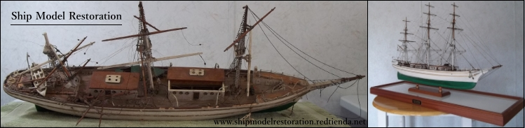 Ship Model Restoration